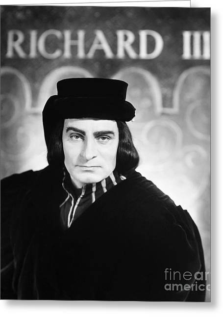Drama Photographs Greeting Cards - Shakespeare: Richard Iii Greeting Card by Granger