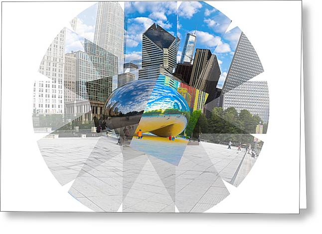 The Bean Greeting Cards - The Bean Greeting Card by Shawn Cagle