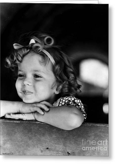 1930s Portraits Greeting Cards - Shirley Temple (1928- ) Greeting Card by Granger