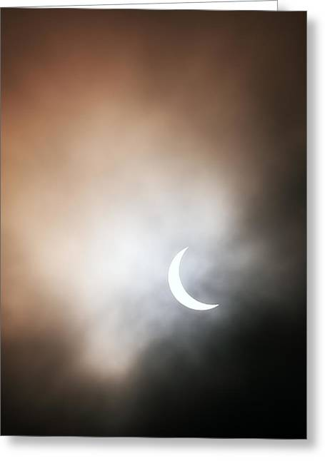 Solar Eclipse Greeting Cards - Solar Eclipse Greeting Card by Grant Glendinning
