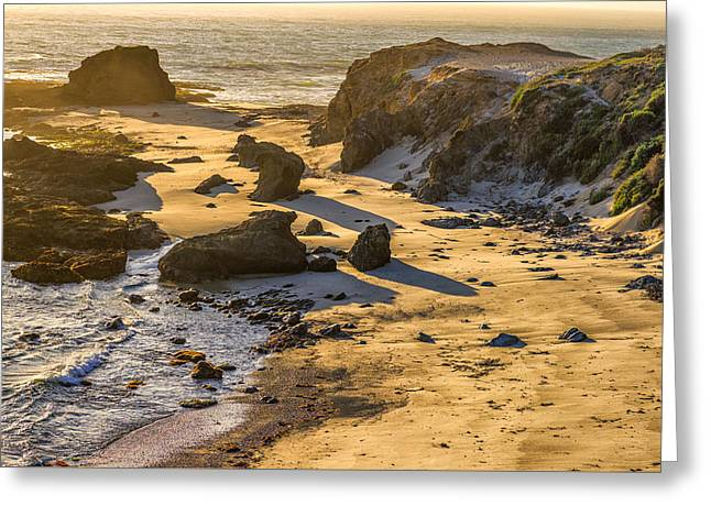 Big Sur Greeting Cards - Solitude Greeting Card by Joseph S Giacalone