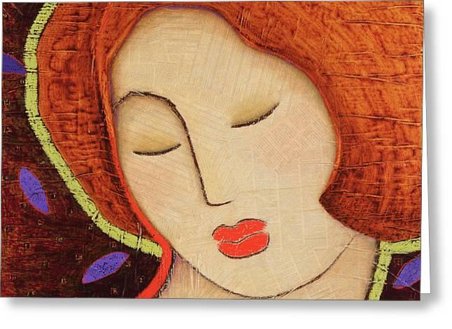 Soul Memory Greeting Card by Gloria Rothrock