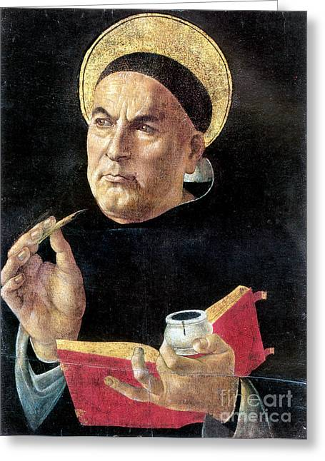 15th Greeting Cards - St. Thomas Aquinas Greeting Card by Granger