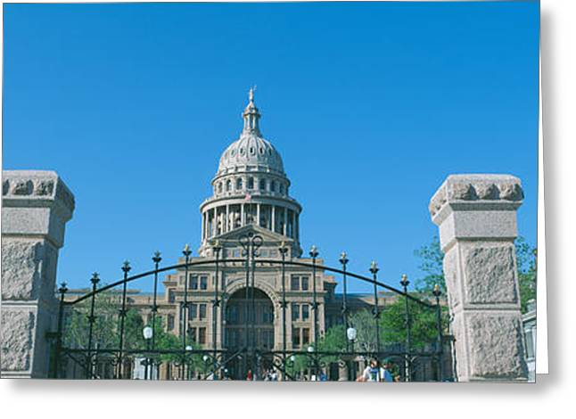 Seat Of Power Greeting Cards - State Capitol, Austin, Texas Greeting Card by Panoramic Images