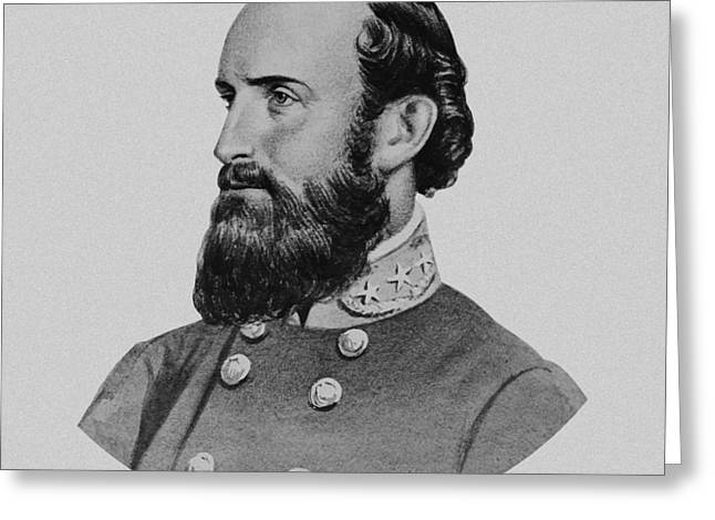 Stonewall Jackson Greeting Card by War Is Hell Store