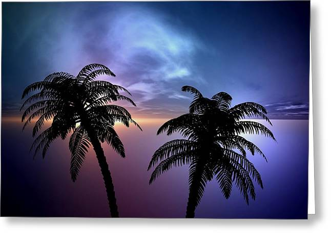 Gainesville Greeting Cards - Sunset Greeting Card by Louis Ferreira