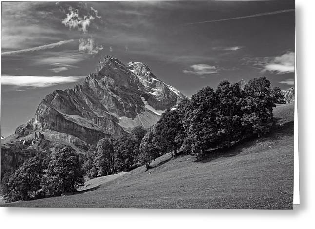 Swiss Photographs Greeting Cards - Swiss Splendor   Greeting Card by Amadis
