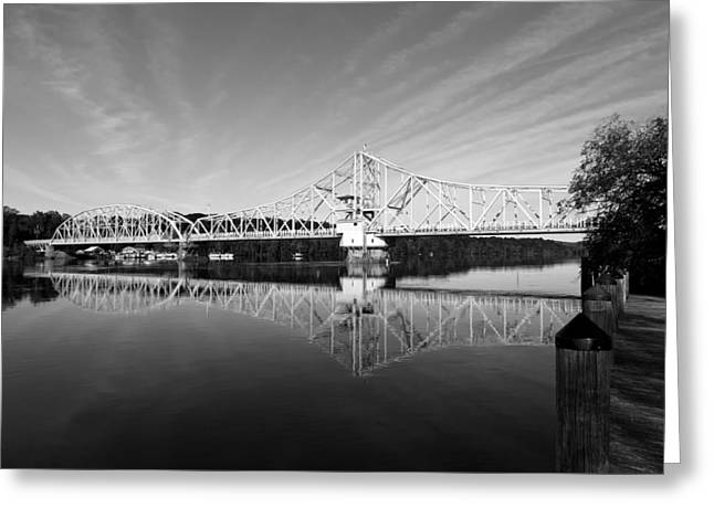 East Haddam Greeting Cards - The East Haddam Bridge Greeting Card by Mountain Dreams