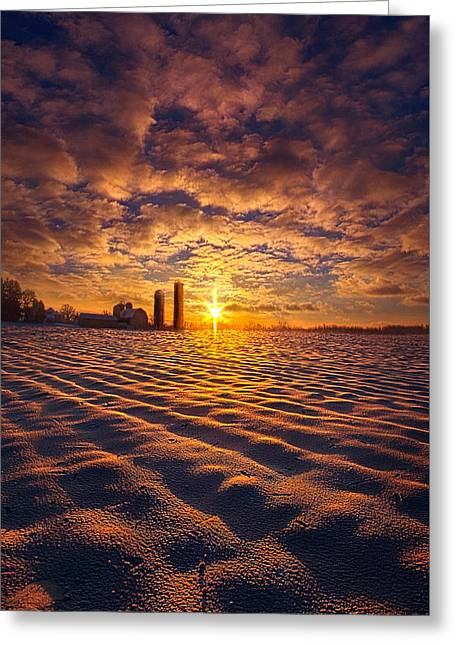 The Gift Greeting Card by Phil Koch