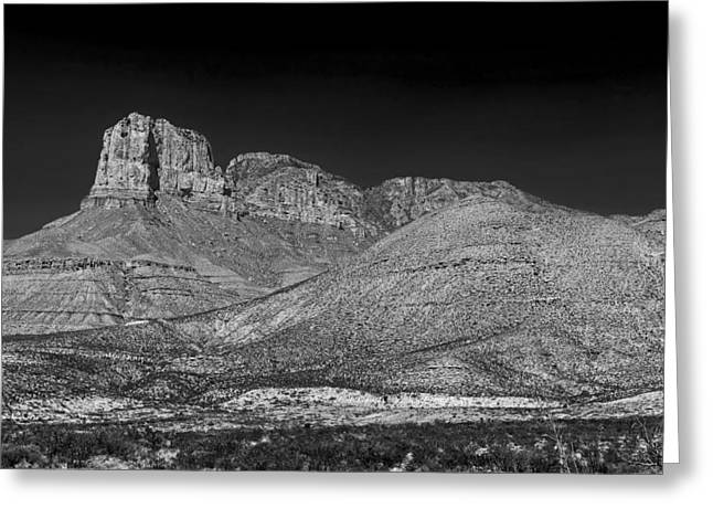 Mound Greeting Cards - The Guadalupe Mountains Greeting Card by Mountain Dreams