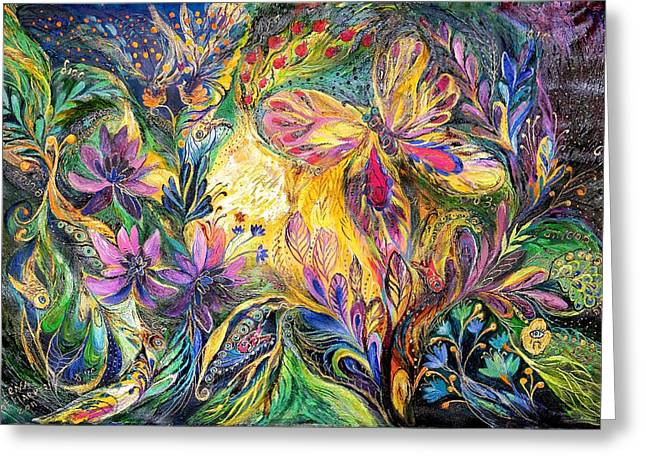 The Life of Butterfly Greeting Card by Elena Kotliarker