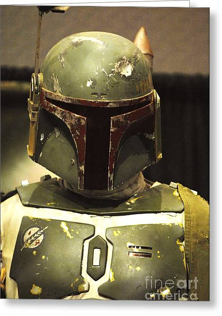Authentic Greeting Cards - The Real Boba Fett Greeting Card by Micah May