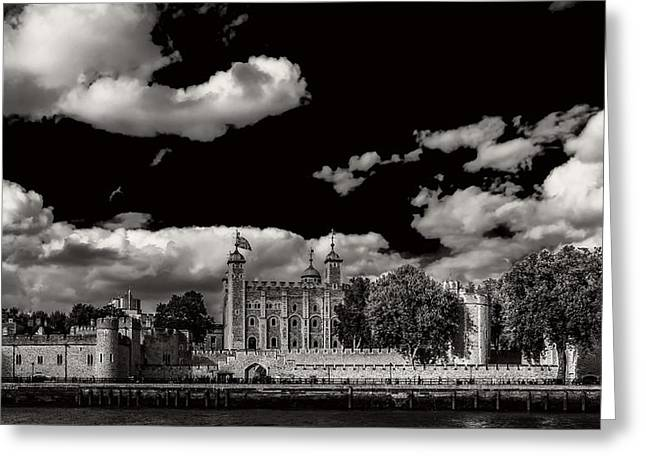 The Tower Of London Greeting Card by Mountain Dreams