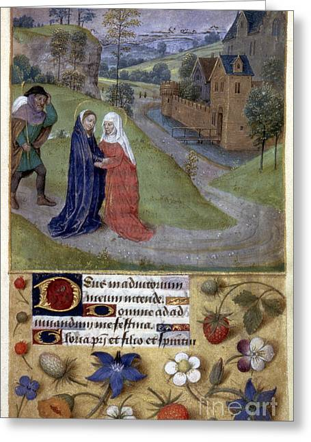 Visiting Hours Greeting Cards - The Visitation Greeting Card by Granger