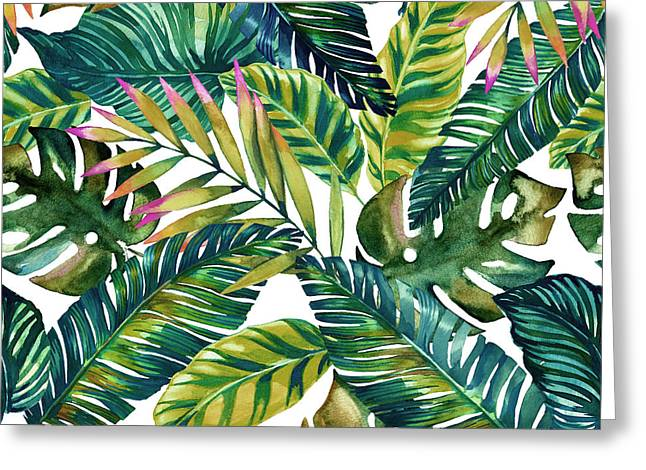 Tropical  Greeting Card by Mark Ashkenazi