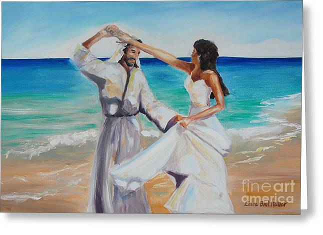 Religious Paintings Greeting Cards - True Love Greeting Card by Laura Bird Miller