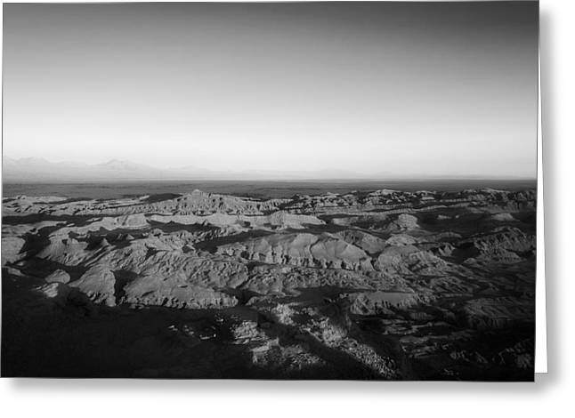 Valley Of The Moon Greeting Cards - Valle de la Luna - Chile Greeting Card by Travel Coffee Book