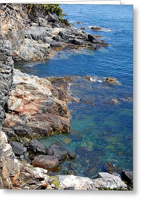 New England Ocean Greeting Cards - View of Acadia National Park, Maine. Greeting Card by Andrei Orlov