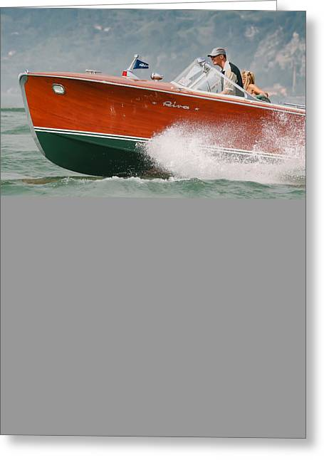 Vintage Riva Greeting Card by Steven Lapkin