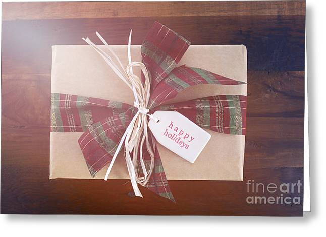 Christmas Eve Greeting Cards - Vintage style Christmas Gift Greeting Card by Milleflore Images