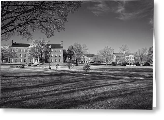 Campus Landscape Greeting Cards - West Virginia Wesleyan College Greeting Card by Mountain Dreams