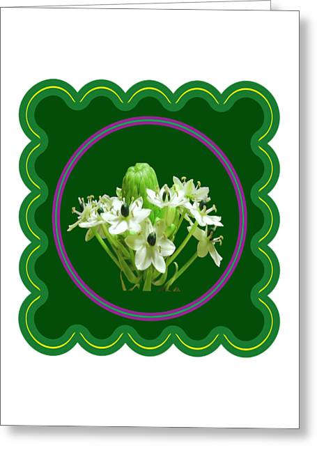 Fineartamerica Greeting Cards - White Bunch Bud Flower Floral posters photography and graphic fusion art NavinJoshi FineArtAmerica P Greeting Card by Navin Joshi