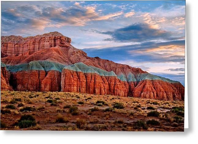 Desert Southwest Greeting Cards - Wild Horse Mesa Greeting Card by Utah Images