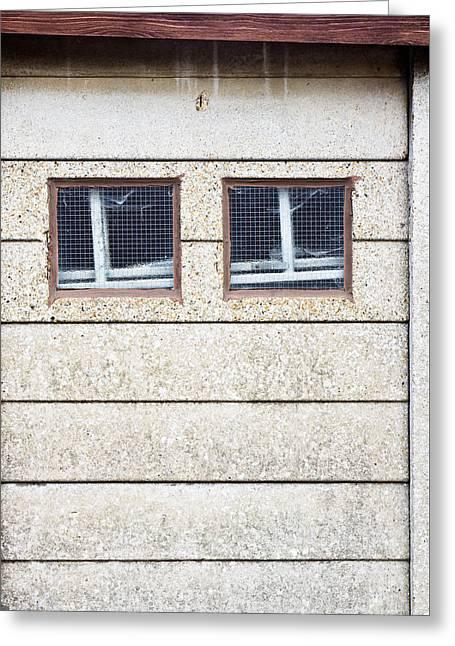 Windows Greeting Card by Tom Gowanlock