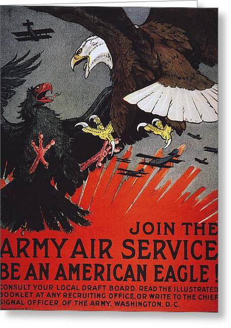 World War I: Air Service Greeting Card by Granger