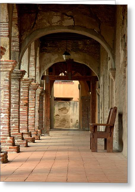 Brad Scott Greeting Cards - Mission San Juan Capistrano Greeting Card by Brad Scott