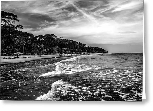 Beach Photography Greeting Cards - Nature Scenes Around Hunting Island South Carolina Greeting Card by Alexandr Grichenko