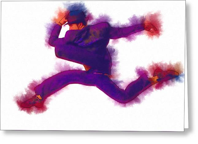 Game Greeting Cards - The Dance Greeting Card by Michael Vicin
