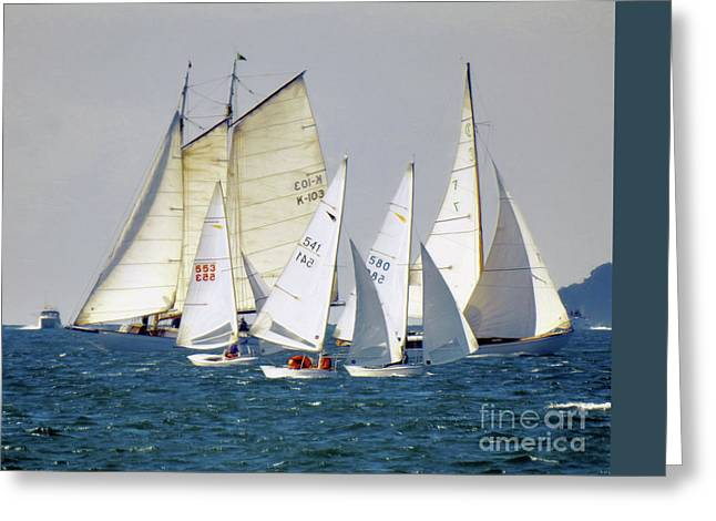 Best Sailing Photos Greeting Cards - 2000mm  Greeting Card by Scott Cameron