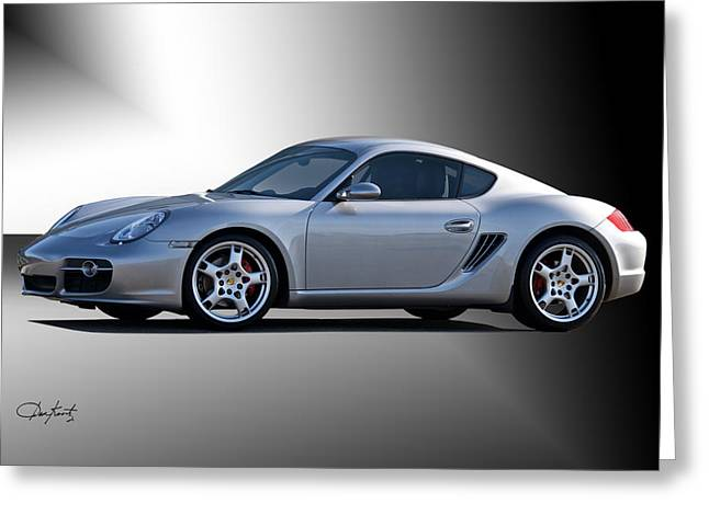 Recently Sold -  - Rally Greeting Cards - 2006 Porsche Cayman S Greeting Card by Dave Koontz