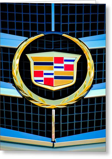 2011 Greeting Cards - 2011 Cadillac CTS Performance Collection -0584c45 Greeting Card by Jill Reger