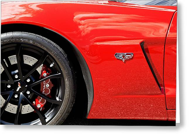 Rich Franco Greeting Cards - 2013 Corvette Greeting Card by Rich Franco