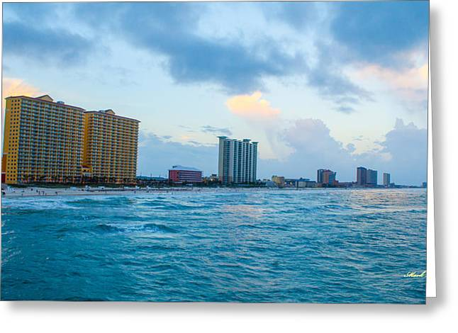 Panama City Beach Fl Greeting Cards - 2015 06 27 Pcb Fl 0413 Greeting Card by Mark Olshefski