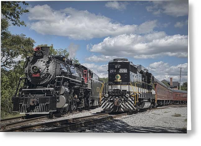 21st Greeting Cards - 2015 Tvrm Railfest 6 Greeting Card by Jim Pearson