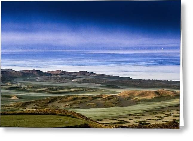 Us Open Photographs Greeting Cards - 2015 US Open - Chambers Bay V Greeting Card by E Faithe Lester
