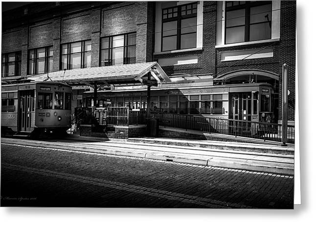 2016 Tampa Street Cars Greeting Card by Marvin Spates