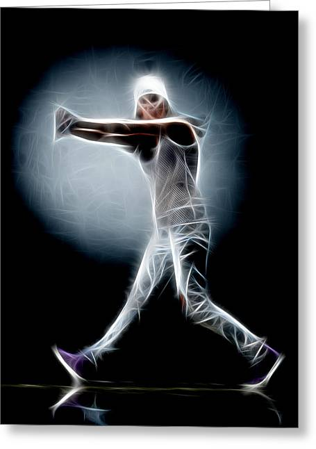 Lessons Greeting Cards - Dance So Greeting Card by Michael Vicin