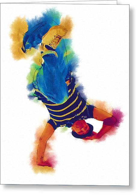 Game Greeting Cards - Can You Dance Greeting Card by Michael Vicin