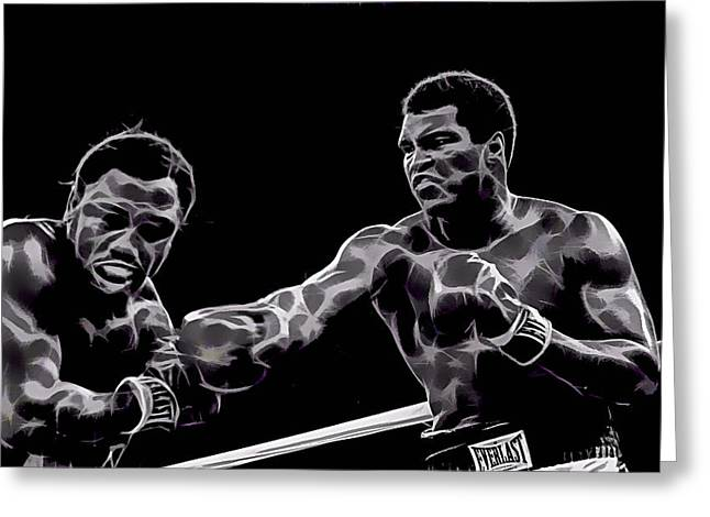 Sport Greeting Cards - Muhammad Ali Collection Greeting Card by Marvin Blaine