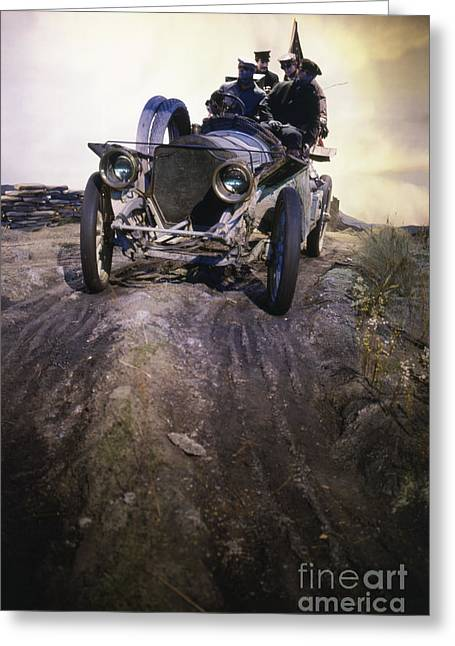 1907 Greeting Cards - American Cars Greeting Card by Baron Wolman