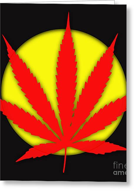 Pop Greeting Cards - Cannabis 420 Collection Greeting Card by Marvin Blaine