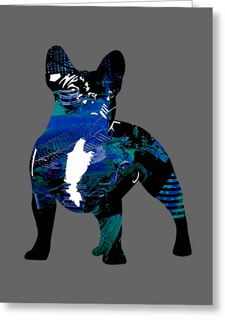 Man Cave Greeting Cards - French Bulldog Collection Greeting Card by Marvin Blaine