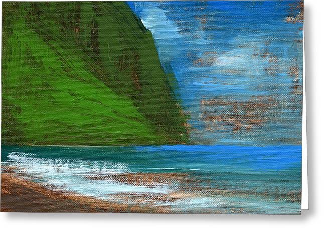 Tropical Oceans Greeting Cards - RCNpaintings.com Greeting Card by Chris N Rohrbach