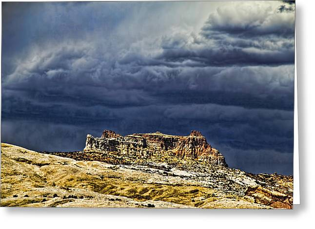 Southern Utah Greeting Cards - San Rafael Swell Greeting Card by Mark Smith