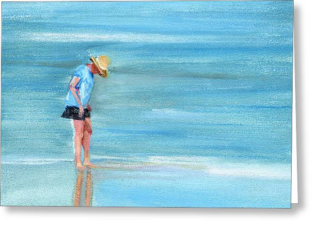 Wet Greeting Cards - RCNpaintings.com Greeting Card by Chris N Rohrbach