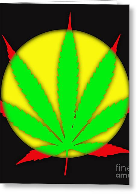 Marijuana Greeting Cards - Cannabis 420 Collection Greeting Card by Marvin Blaine